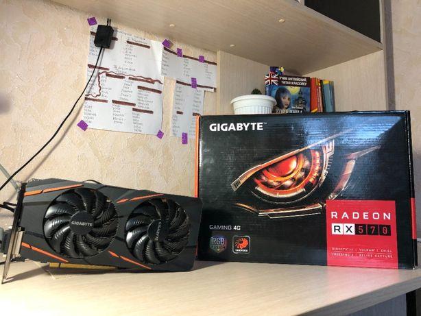 RX 570 Gigabyte Gaming 4gb