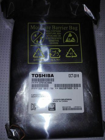 """новий вінчестер 3.5"""" Toshiba 500gb"""