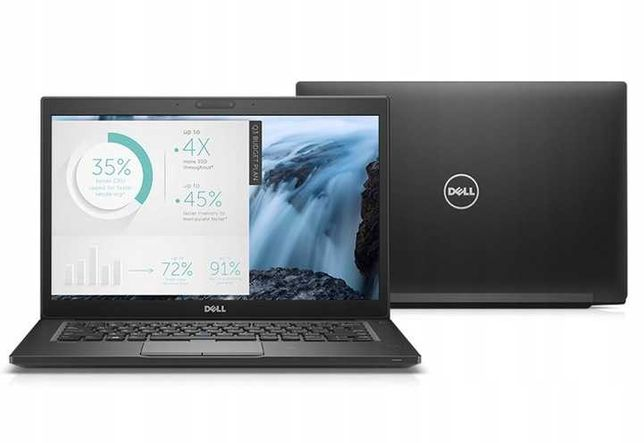 Biznesowy laptop Dell E7480 i7 8GB 256GB m.2 SSD W10P HD