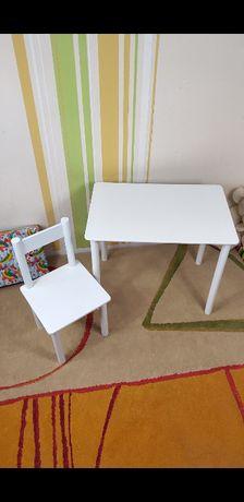 """Детский столик """"Белый"""" и стульчик стол-парта,стульчик"""