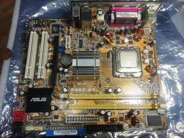 Мат.плата Asus P5GZ-MX + процессор Сore 2 Duo E6400,