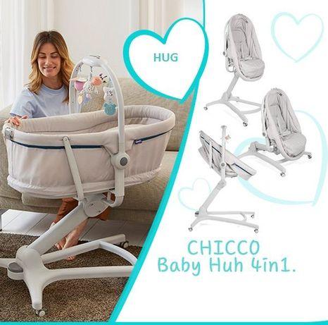 CHICCO BABY Hug Baby 4W1 Leżaczek,krzesełko,Fotel-NOWY-2Lata Gwaracji