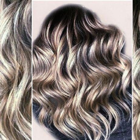 Нужны модели на окрашивание волос. Балаяж Шатуш Омбре Мелирование