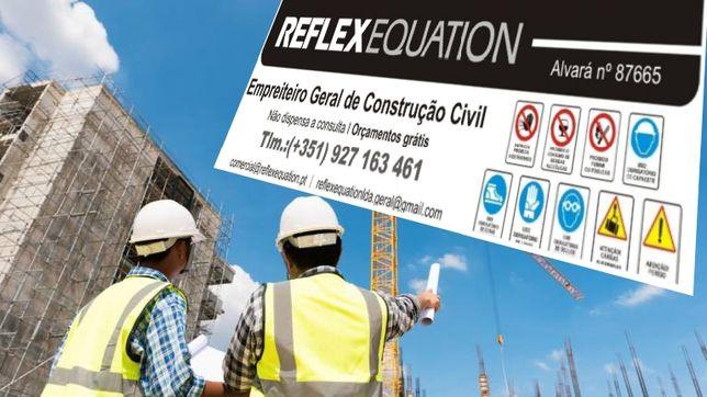 Construção e engenharia civil - Reflexequation Lda