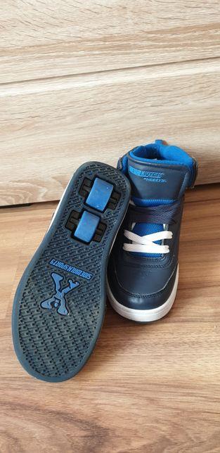 Butorolki 34 SideWalkSports Heelys buty z rolkami wysokie podwójne rol