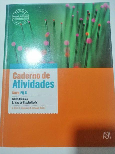 Novo FQ - Físico-Química - 8º Ano - Caderno de Atividades