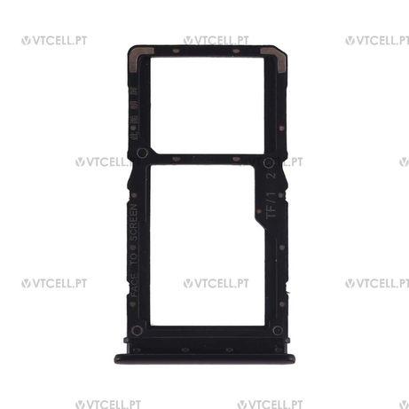 Gaveta cartão SIM para Xiaomi Redmi Note 7 - Preto