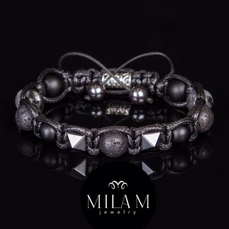 Мужские браслеты из камней Ручной работы Дорогие Подарок парню