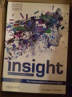 insight pre-intermediate student's book