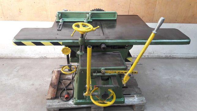 Maszyna wieloczynnościowa wyrówniarka grubościówka, wiertarka, pilarka