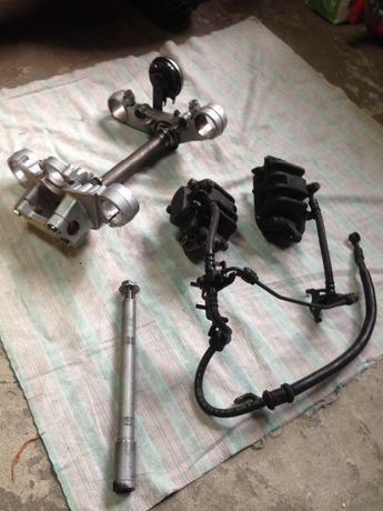 Części Honda hornet 600 pc36 oś przednia zaciski półki
