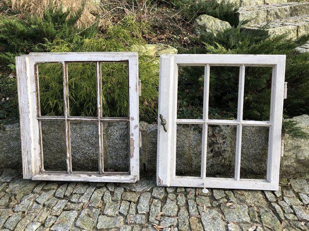 Stylowe stare okna z poniemieckiej willi