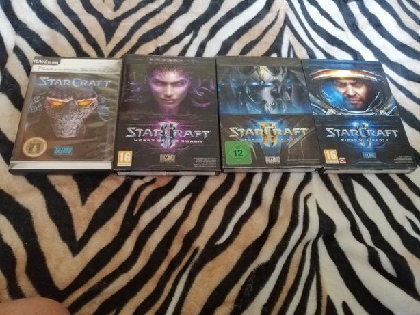 Zestaw gier Starcraft PC