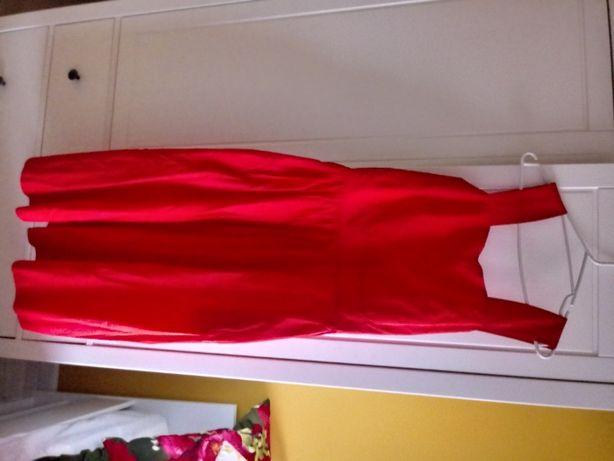Sukienka czerwona COS 42