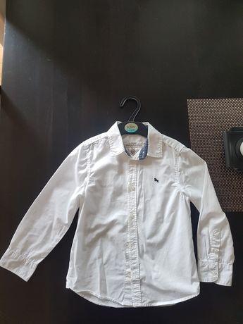 Biała koszula H&M dla chłopca 116 cm 6 lat