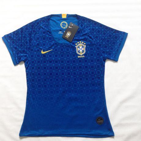 Camisa seleção Brasileira Feminina Brasil Copa do Mundo 2019 -S M L XL