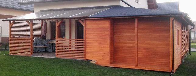 Domki Letniskowe Altany Garaże Wiaty Projekt Realizacja