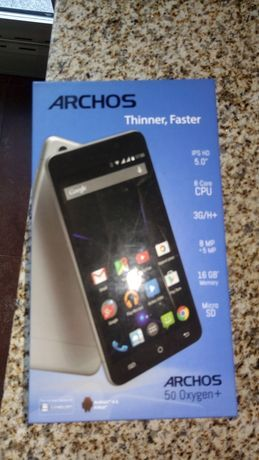 Smartphone Archos 16GB e 2 Gb RAM para peças