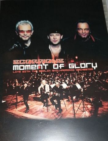 DVD - Scorpions Moment Of Glory