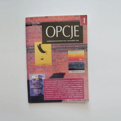 Kwartalnik Opcje numer 1 z 1998 roku, opcje numer 1, opcje czasopismo
