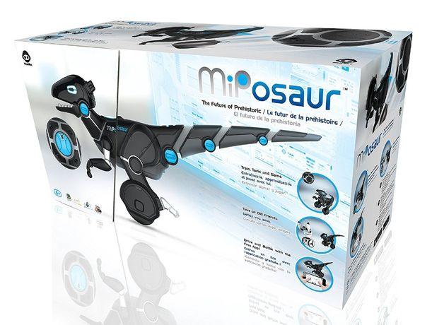 Интерактивная игрушка робот Miposaur WowWee Мипозавр с мячом