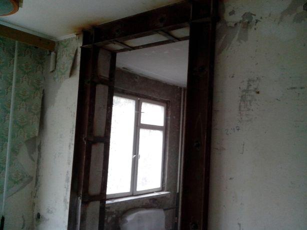 Алмазная резка проемов. Сверление отверстий. Демонтаж бетона.