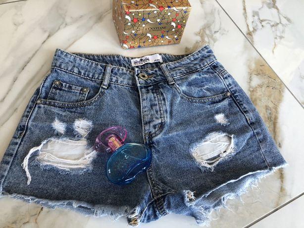 Крутые джинсовые шорты, размер 26