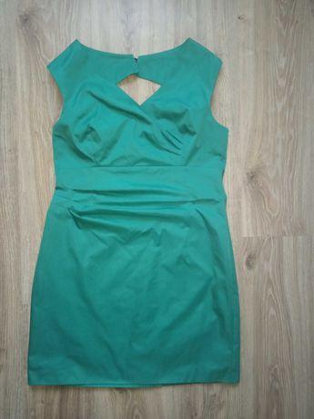 De Facto 44 piękna zieleń sukienka wizytowa