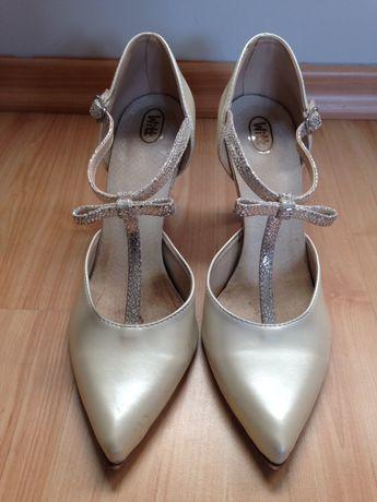 Buty ślubne, szpilki, czółenka, WITT