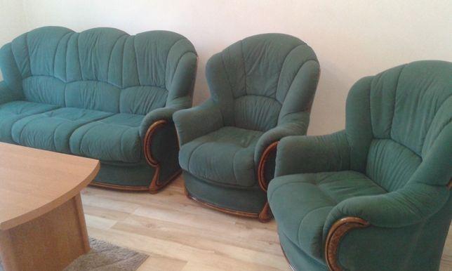 Sofa + fotele wypoczynkowy