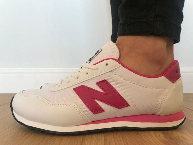 New Balance 410. Rozmiar 37. Białe - Różowe. PROMOCJA