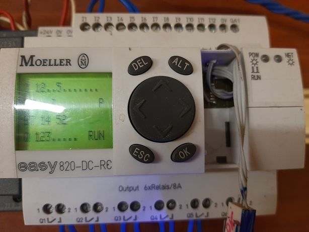 Контроллер eaton easy 820 dc rc кабель программироаания