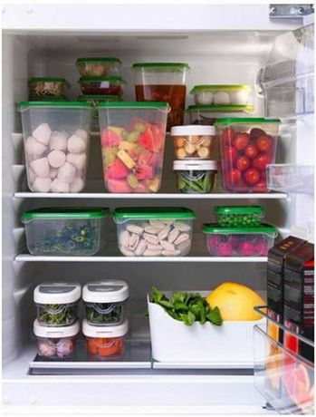 Набор лотков для храненния продуктов 17шт. IKEA