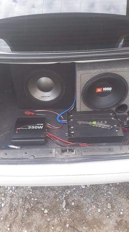Wzmacniacz ,skrzynia, basowa, kondensator