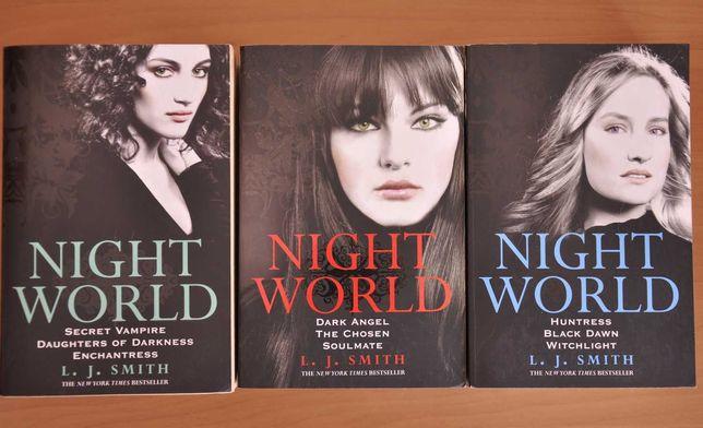 Książki po angielsku - L.J. Smith - Night world / Świat nocy