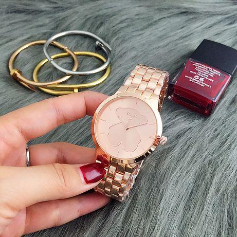 Zegarek bransoletka tous różowe złoto