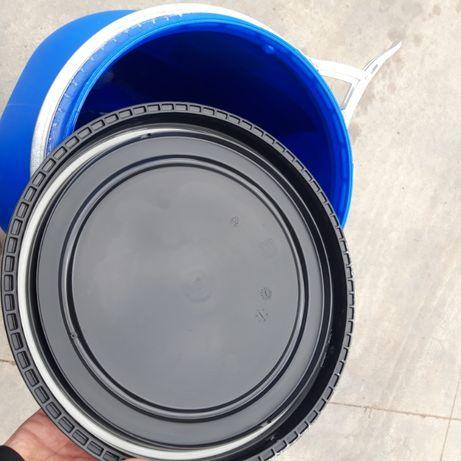 beczka plastikowa 120l pojemnik na wodę deszczówkę 200 jak nowa mauzer