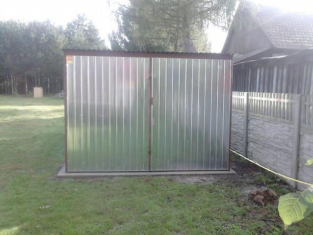 Garaż blaszany standardowy 3x5 garaże blaszaki metalowy