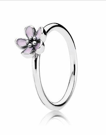 Кольцо Pandora цветок вишни, оригинал, 16,5 мм ( по маркеровке 50)