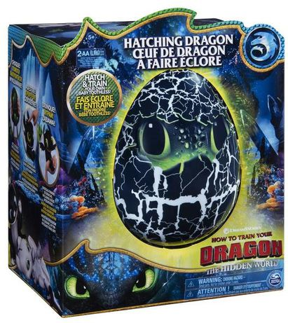 Беззубик Интерактивный Дракон в яйце . Оригинал Spin Master