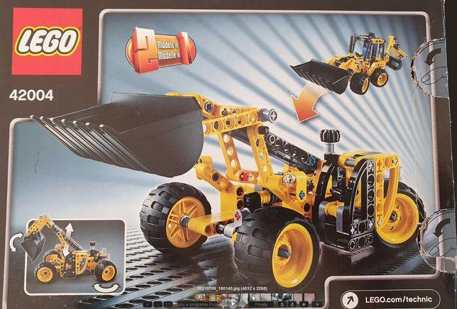 Lego 42004 Technic Mini Koparko - Ładowarka