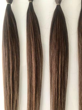 Натуральные волосы славяночка