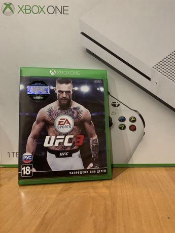Игра UFC 3 Xbox One юфс 3 xbox one s x 2 диск