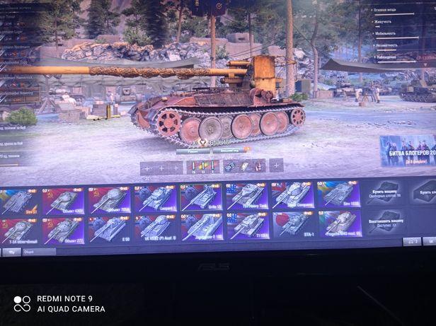 Аккаунт в  танки