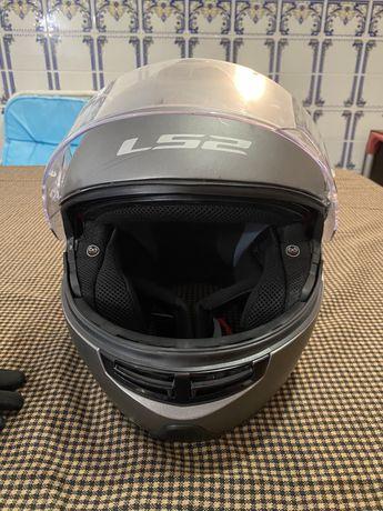 Vendo capacete de mota