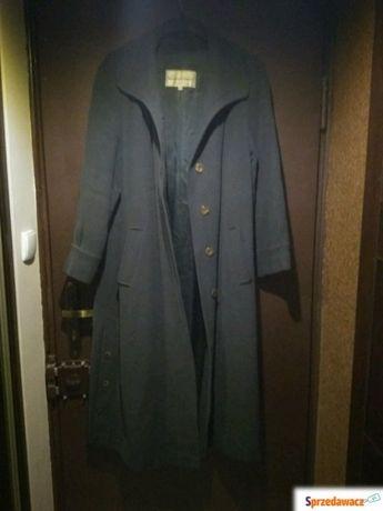 Płaszcz zielony wełniany Cora Garwolin 42 M/L polecam