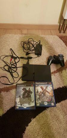 PlayStation 2 +dwie gry