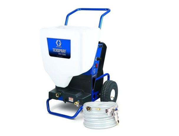 Máquina elétrica RTX1500 SP da marca Graco p/ projetar capoto e gesso