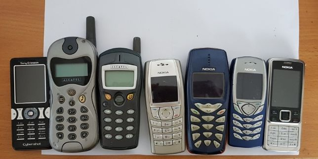 Telefony dla kolekcjonera