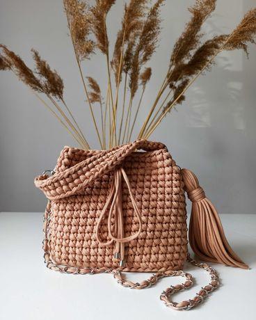 Torebka boho handmade